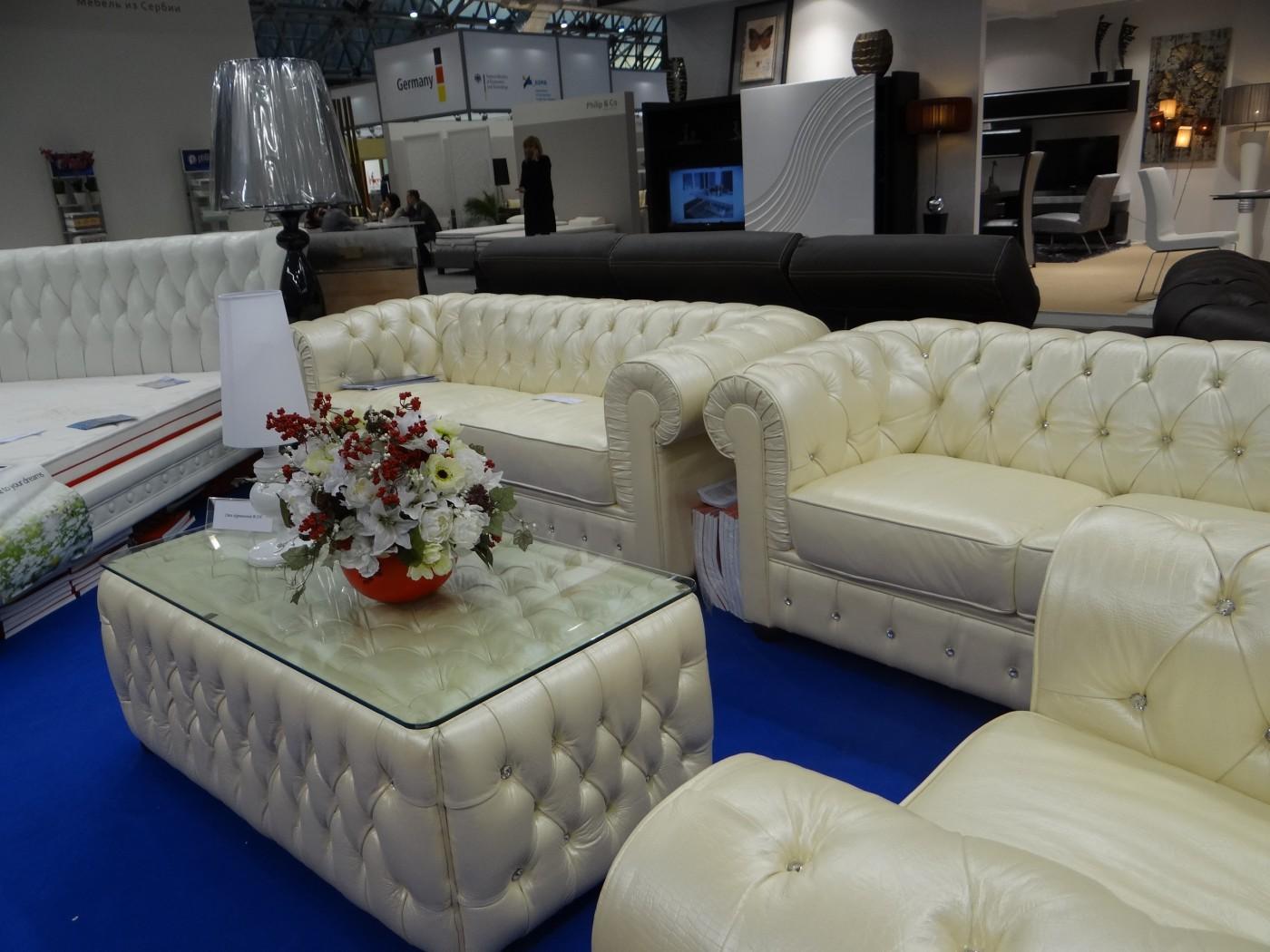 Комплект мягкой мебели В-258