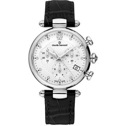 Купить Женские швейцарские наручные часы Claude Bernard 10215 3 APN2 по доступной цене
