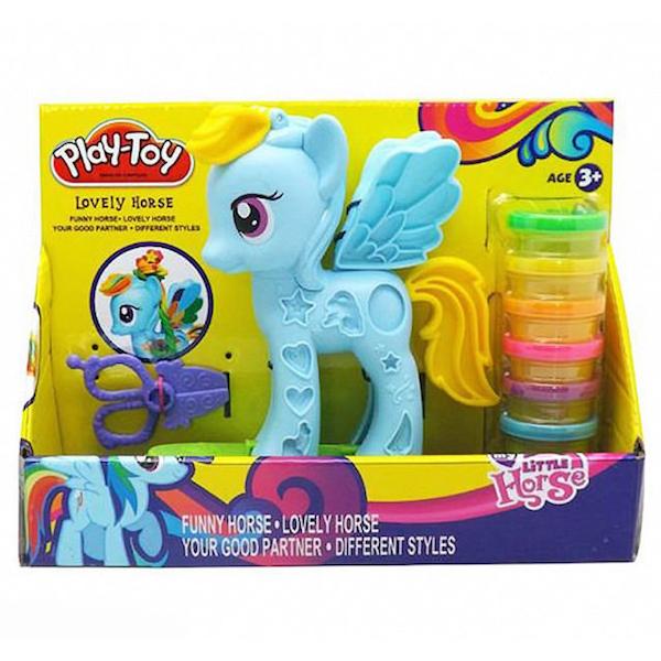 Товары для детей Набор для лепки «My Little Horse», Play Toy My_Little_pony.JPG
