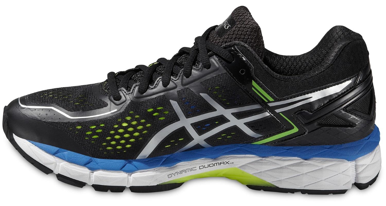 Мужская беговая обувь Asics Gel-Kayano 22 (T547N 9093) черные фото