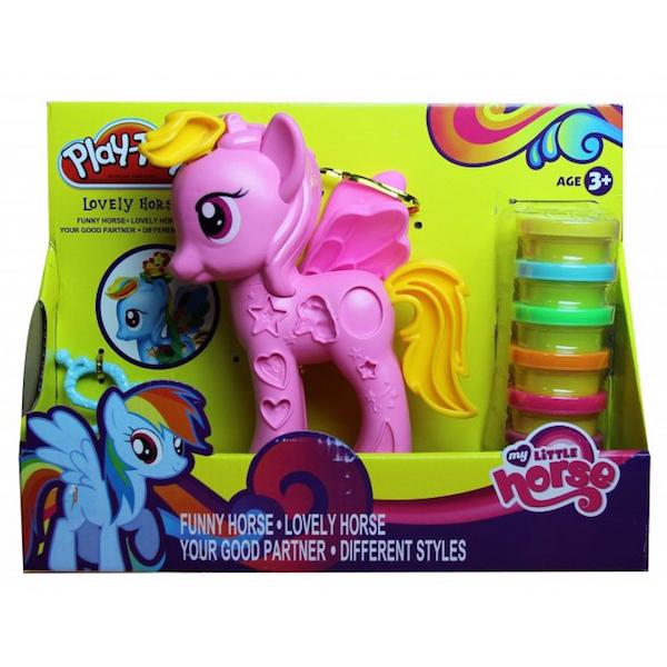 Розовая пони из набора «My Little Horse»