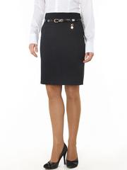 5689-2 юбка женская, темно-синяя