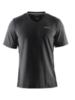 Мужская спортивная футболка Craft Training Basic 1904030-9999 черная