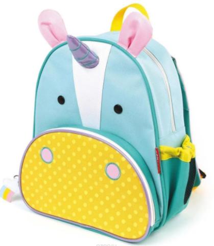Рюкзак детский с поводком Единорог