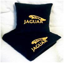Плед в чехле с логотипом Jaguar