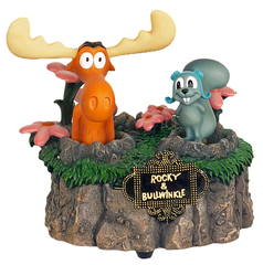 Rocky & Bullwinkle Music Box