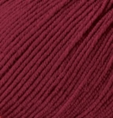 Пряжа Baby wool ( Alize) 390 Вишня - фото