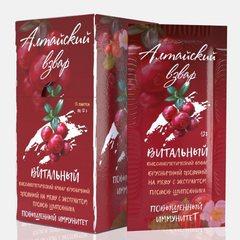 Взвар Алтайский Брусничный Повышенный иммунитет, 12 гр. (Здоровая семья)
