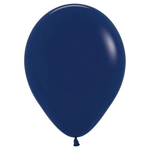 Шар Темно-синий, 30 см
