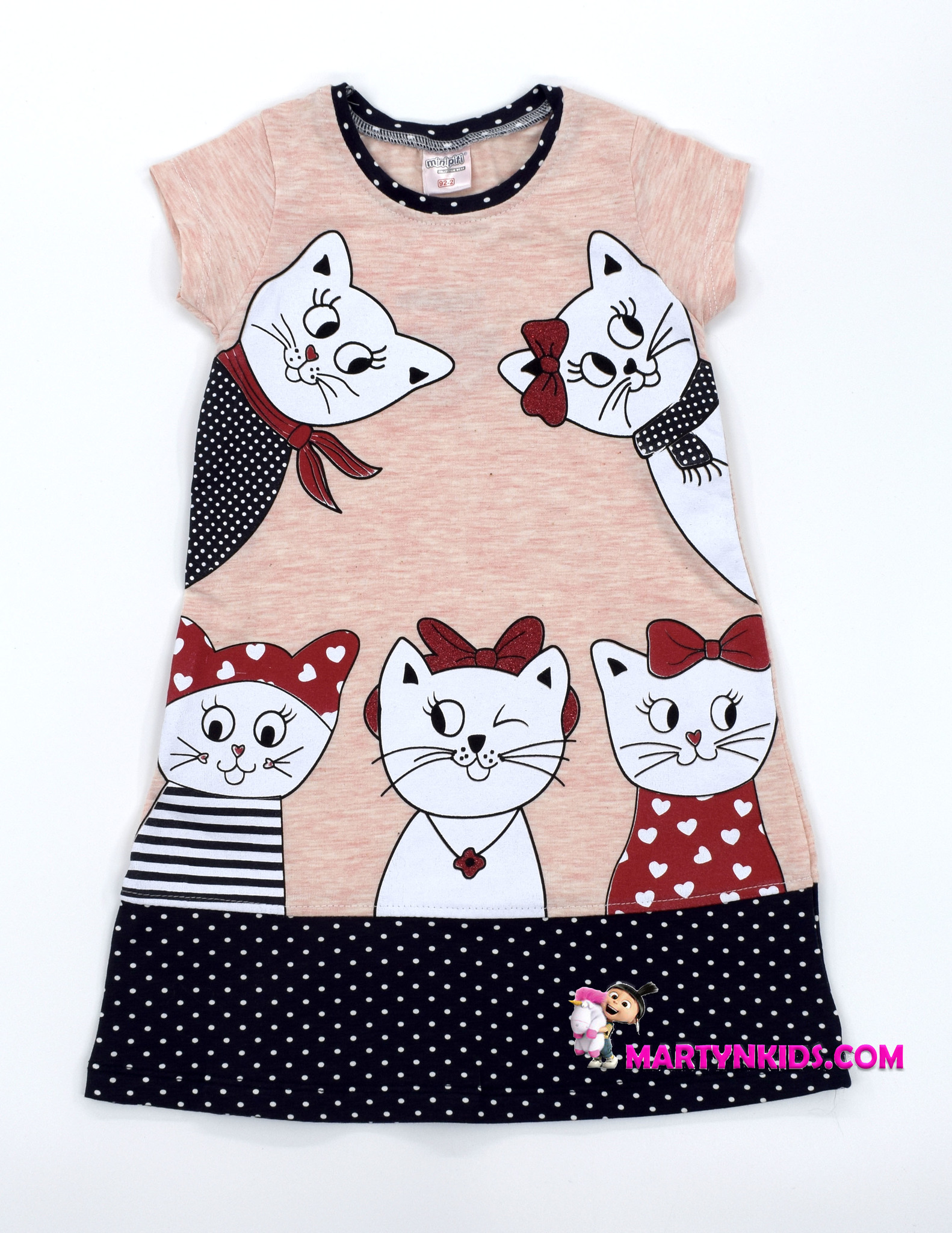 2294  платье Умные коты