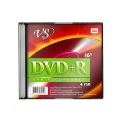 Носители информации VS DVD+R 4,7GB 16x SL/5