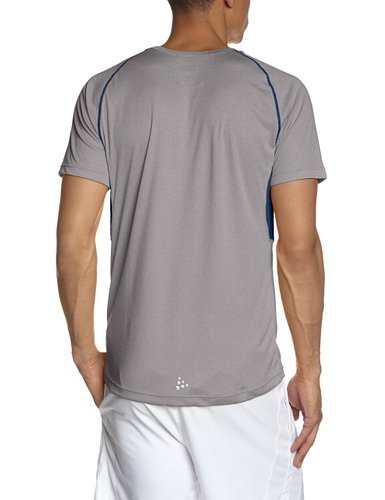 Мужская футболка для бега крафт Prime Run (1902497-2950) серая