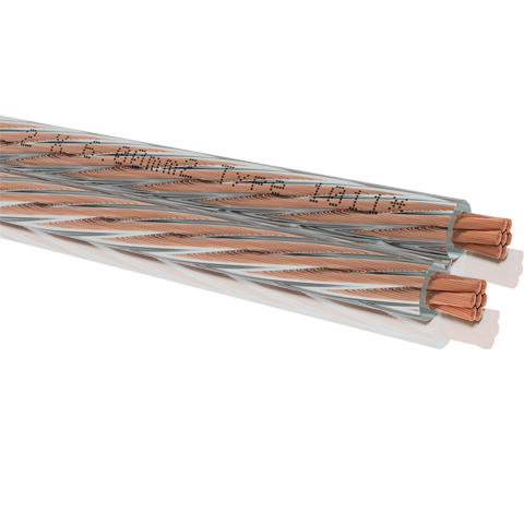 Oehlbach Speaker Cable 2x6mm clear 50m, кабель акустический (#1011)