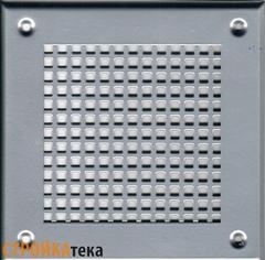 Решетка 150*150 хром, б.клетка