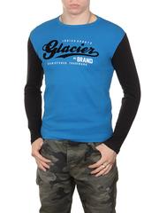 0744-3 толстовка мужская, синяя