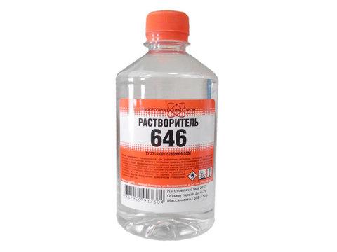 Растворитель 646 0,5л ПЭТ