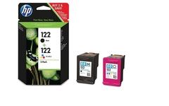 Комплект  картриджей HP 122 чёрный/цветной (CR340HE)