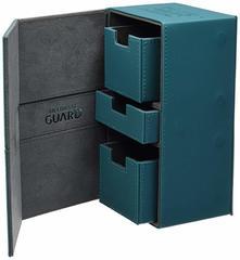 Ultimate Guard - Двойная кожаная коробочка с отделением для кубиков на 200 карт