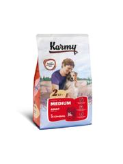 Корм для взрослых собак средних пород, Karmy Medium Adult, в возрасте старше года, с телятиной