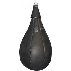 Груша боксерская, 40 кг, натуральная кожа.