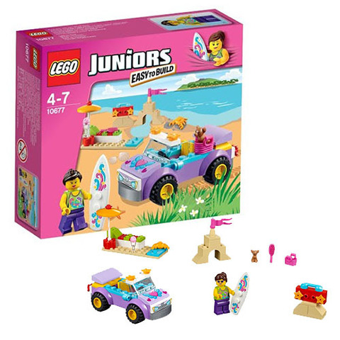 LEGO Juniors: Поездка на пляж 10677