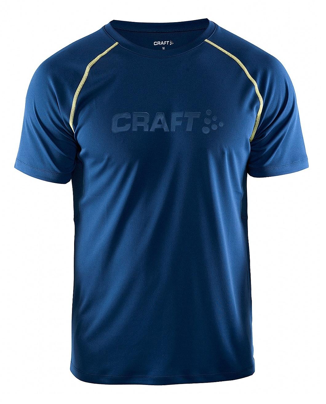 Мужская футболка для бега Craft Prime Run (1902497-2381) синяя фото