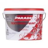 Краска фактурная PARADE W200 Белая матовая 10л