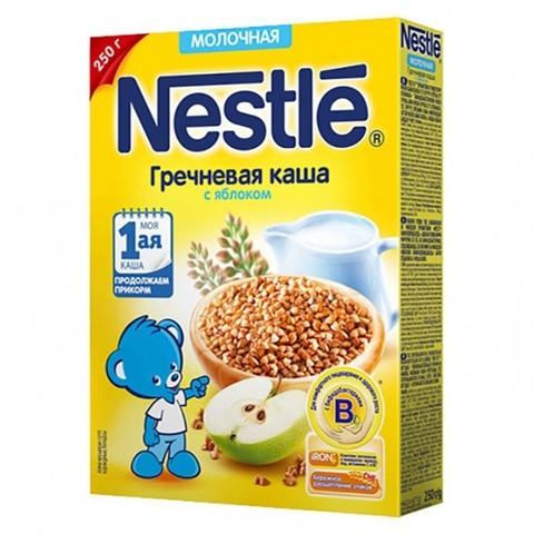 Nestlé® Молочная гречневая каша с яблоком 250гр