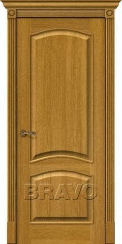 Дверь Bravo Вуд Классик-32, цвет natur oak, глухая