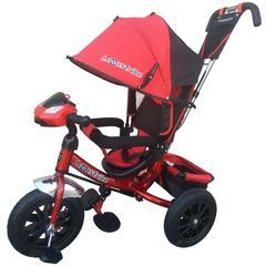 Велосипед Lexus trike 12x10 Надувные, светомуз. панель, Красный (950M2-N1210P-Red)