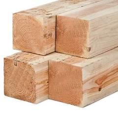 Деревянный брус для обвязки свай 100*150