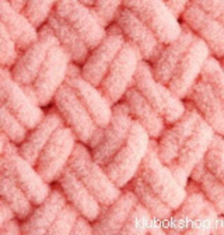Пряжа Puffy (Alize) 529 персиковый, фото