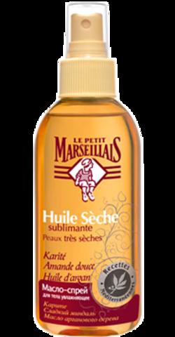 """Спрей для тела """"Le Petit Marseillais"""" увлажняющий: масло карите и сладкий миндаль 200мл"""