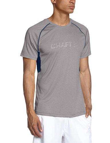 Мужская беговая футболка Craft Prime Run (1902497-2950) серая фото