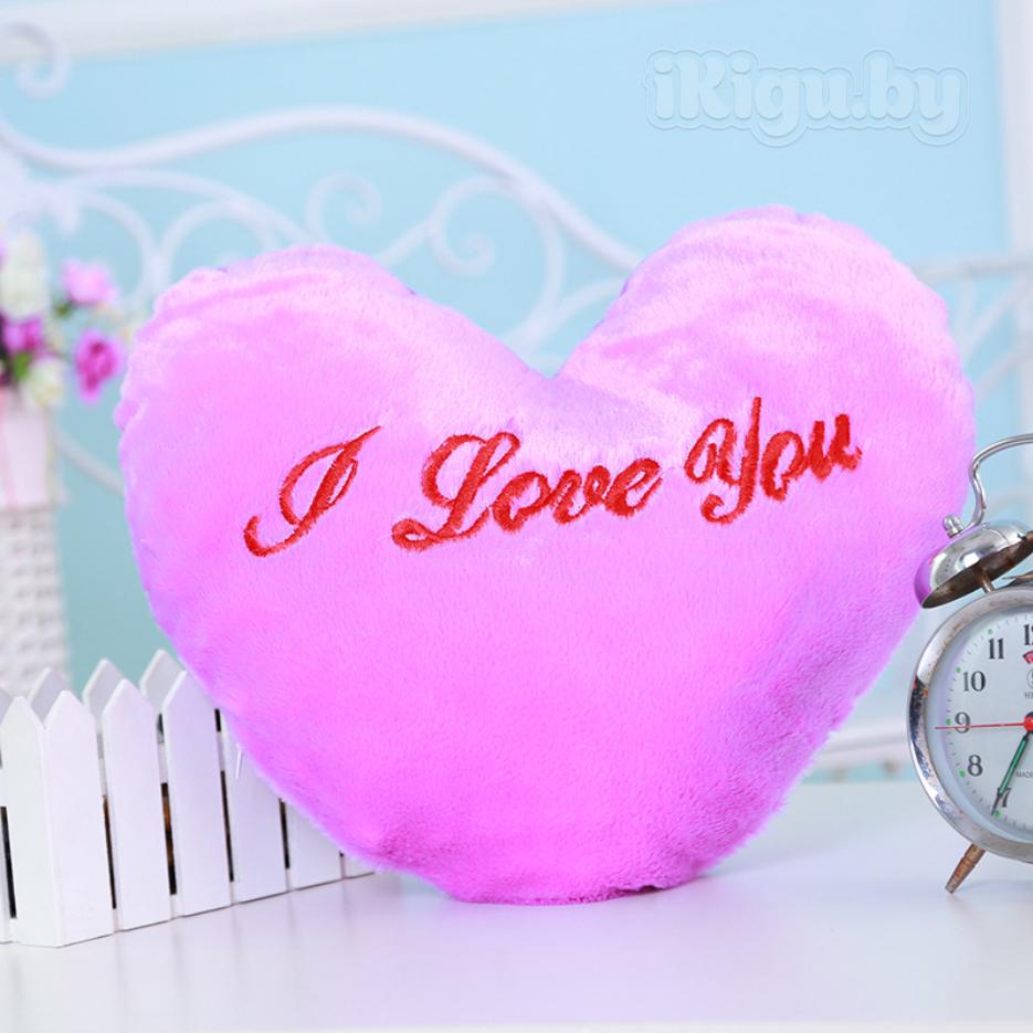 """Подарки на 8 марта Светящаяся подушка """"Сердце"""" подушка_сердце2.jpg"""
