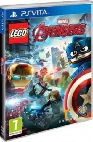 PS Vita LEGO Marvel Мстители (русские субтитры)