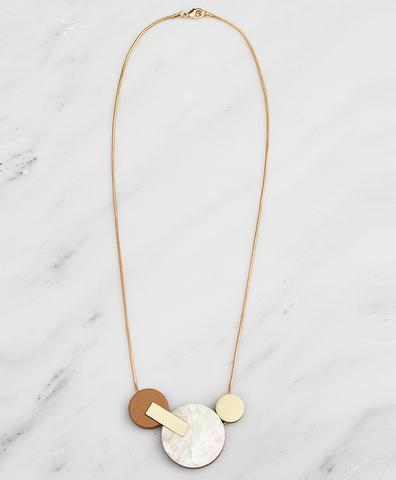 Подвеска Celeste II Necklace Mother of Pearl