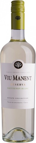 Вино Viu Manent, Sauvignon Blanc Reserva, 0.75 л