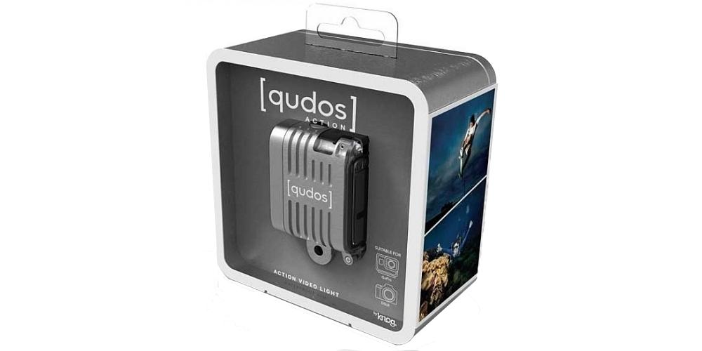 Фонарь LED Knog Qudos Action Light в упаковке