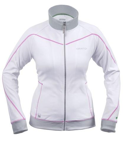 Куртка флисовая женская Craft In the Zone белый
