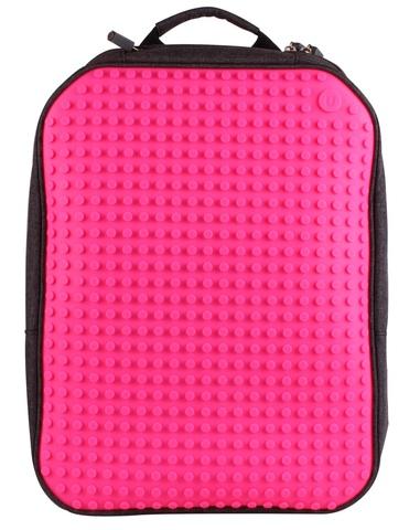 Школьный пиксельный рюкзак Full Screen розовый