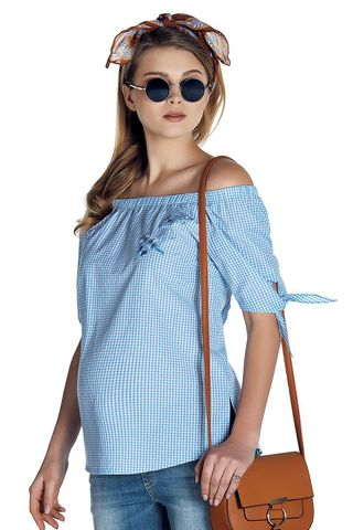Блузка 08494 синий