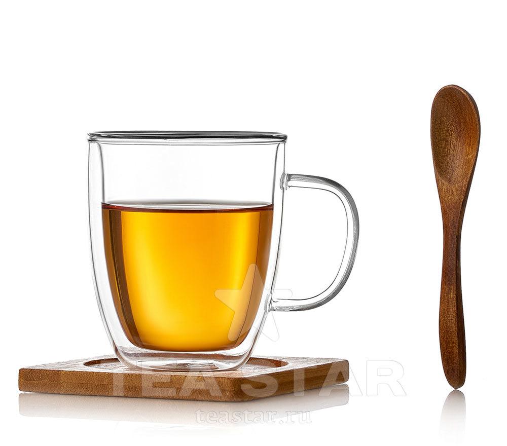 Чашки с двойными стенками Стеклянная кружка с двойными стенками с подставкой и ложкой, 200 мл kruzhka_dvoynie_stenki_s_podstavkoi_i_lozhkoy_200ml.jpg