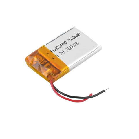 Аккумуляторы литий-полимерный 402030, 500mAh, 3.7V
