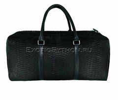Дорожная сумка из кожи питона BG-226