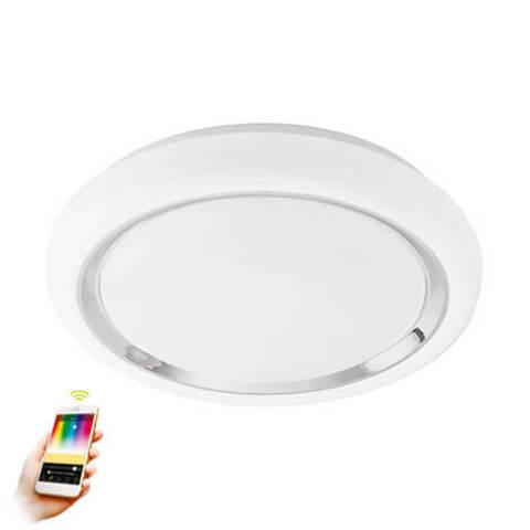 Светильник светодиодный настенно-потолочный умный свет EGLO connect Eglo CAPASSO-C 96686