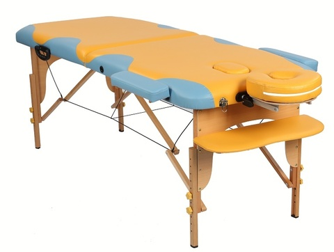Стол деревянный MIRACLE PLUS yellow/blue