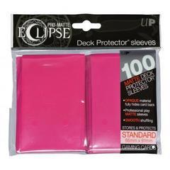 Ultra Pro - Ярко-розовые матовые протекторы PRO-Matte Eclipse 80 штук