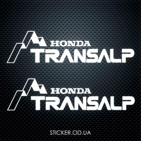 Виниловая наклейка на мотоцикл Honda