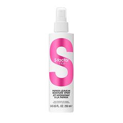 Tigi S-Factor Papaya Leave-In Moisture Spray - Несмываемый спрей-уход для волос